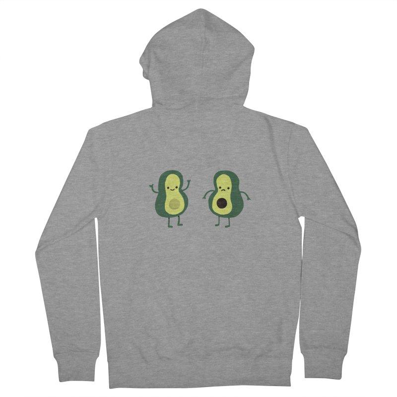 Avocado Avocadon't Men's French Terry Zip-Up Hoody by Thomas Orrow