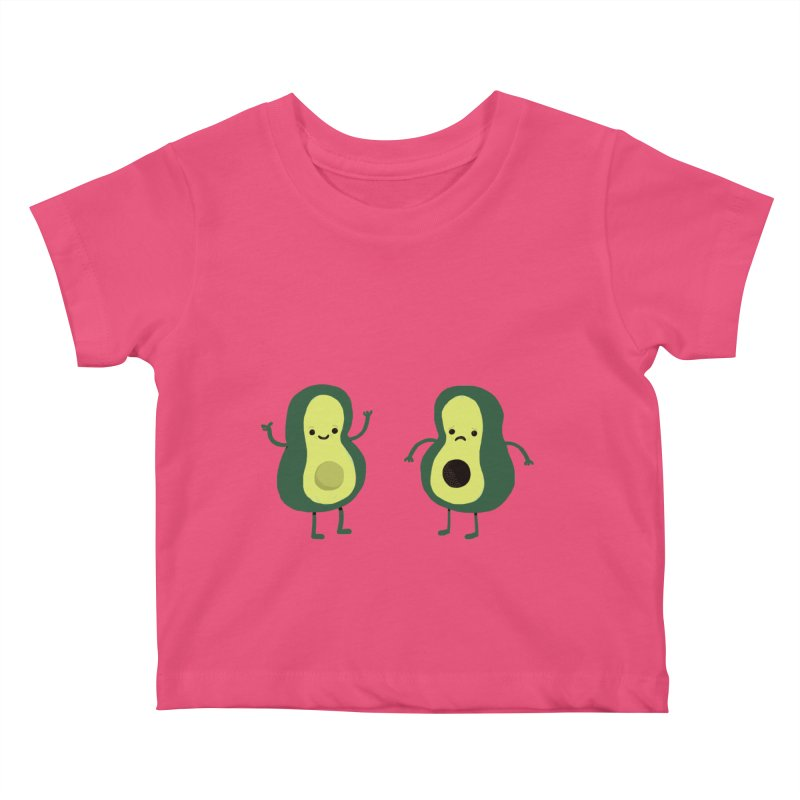 Avocado Avocadon't Kids Baby T-Shirt by Thomas Orrow
