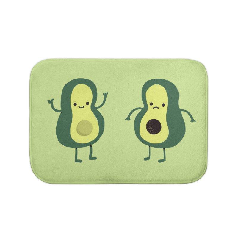 Avocado Avocadon't Home Bath Mat by Thomas Orrow