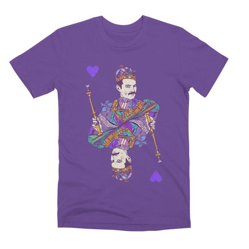 Love Rules Men's Premium T-Shirt by Thomas Orrow