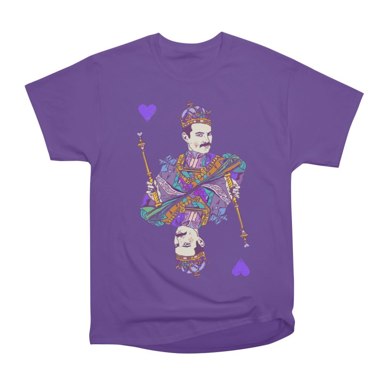 Love Rules Men's Heavyweight T-Shirt by Thomas Orrow