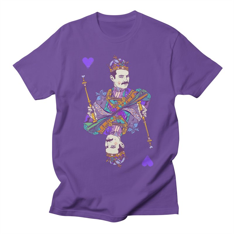 Love Rules Women's Regular Unisex T-Shirt by Thomas Orrow