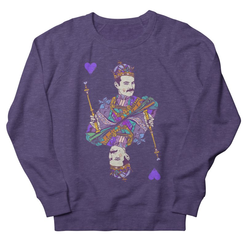 Love Rules Men's French Terry Sweatshirt by Thomas Orrow