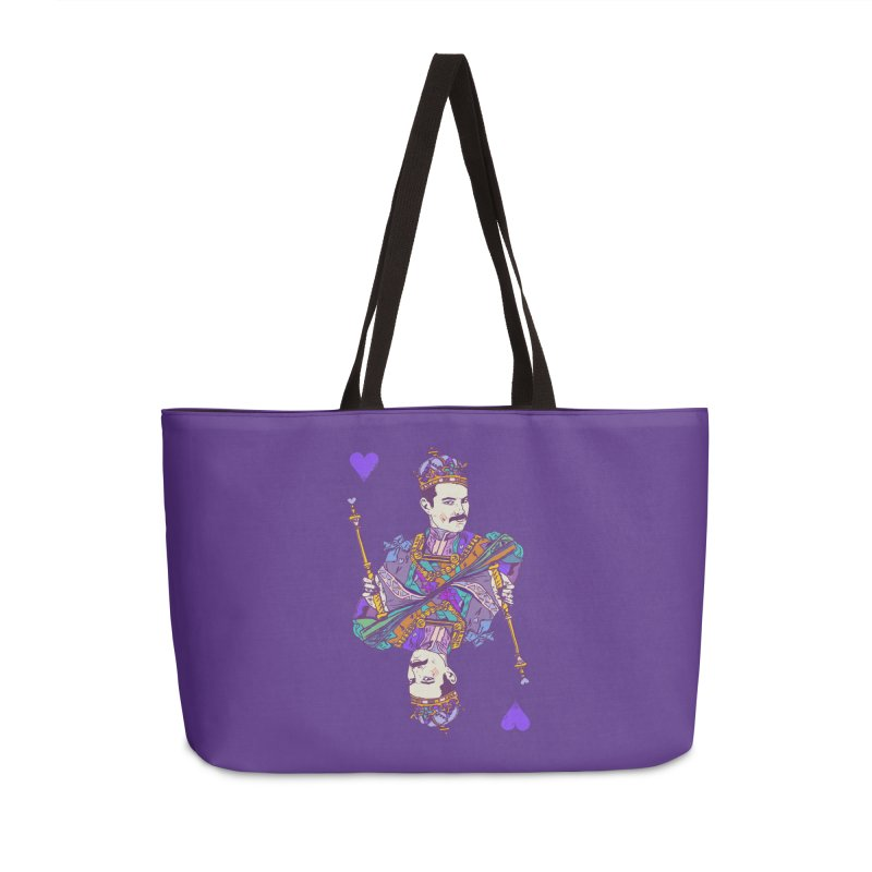 Love Rules Accessories Weekender Bag Bag by Thomas Orrow