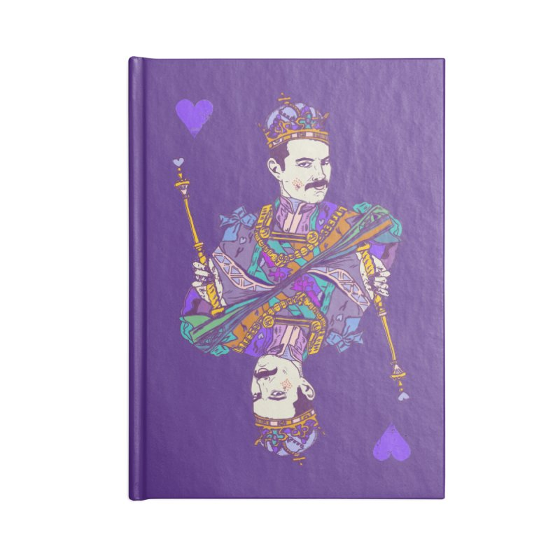 Love Rules Accessories Blank Journal Notebook by Thomas Orrow