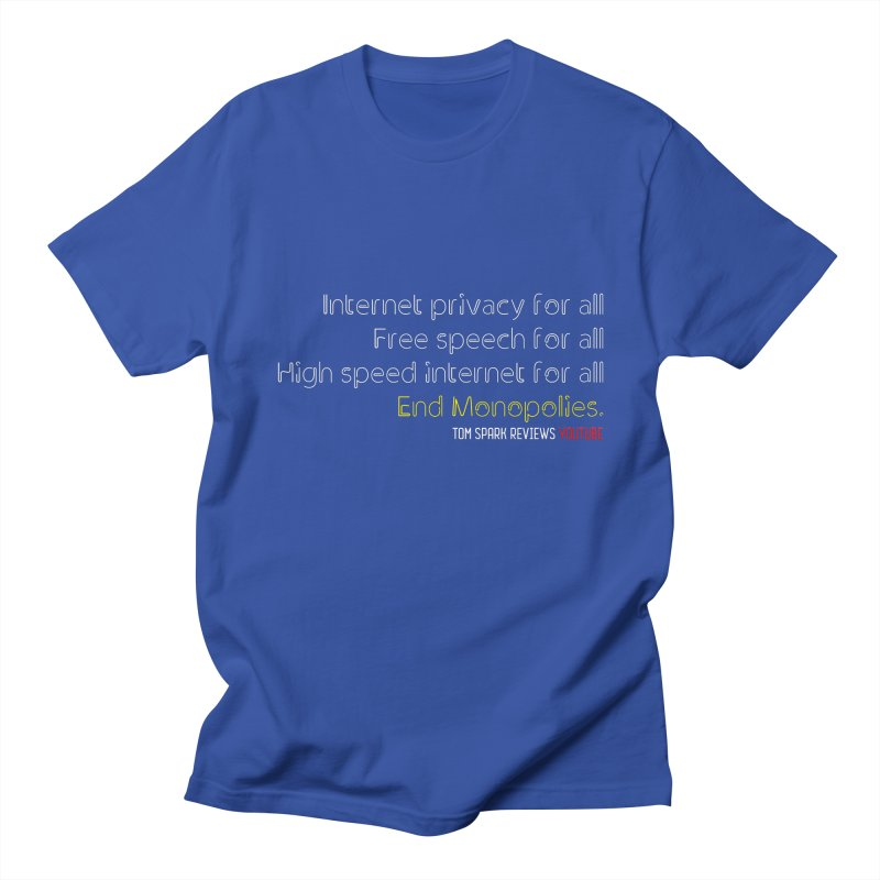 Privacy for all. Men's T-Shirt by Tom Spark Reviews Merch