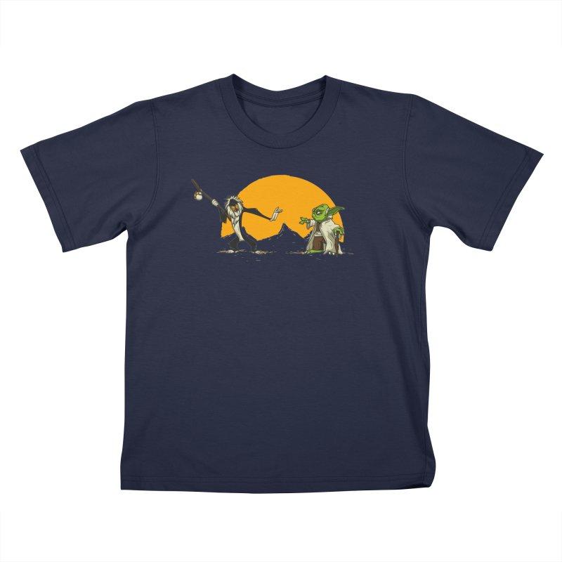Rafiki vs Yoda Kids Toddler T-Shirt by Tomas Teslik's Artist Shop