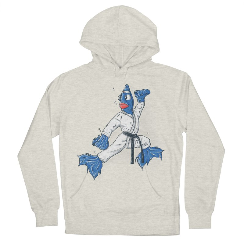 Fighting Fish Men's Pullover Hoody by Tomas Teslik's Artist Shop