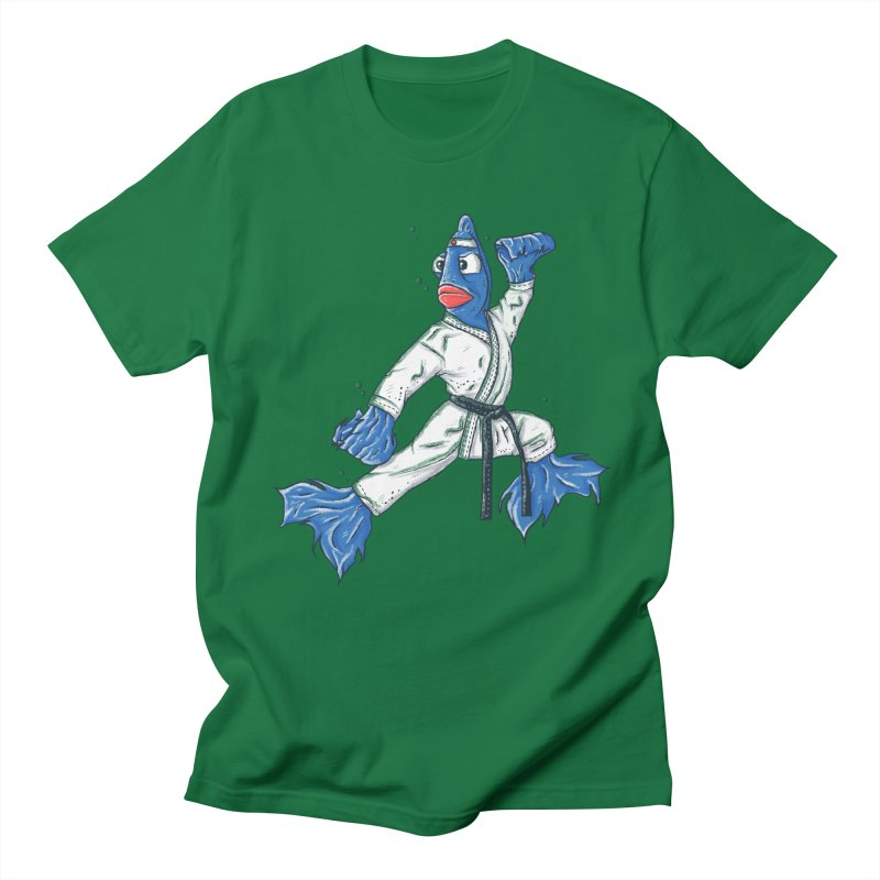 Fighting Fish Men's T-Shirt by Tomas Teslik's Artist Shop