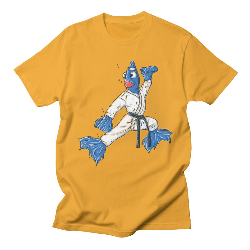 Fighting Fish Women's Unisex T-Shirt by Tomas Teslik's Artist Shop