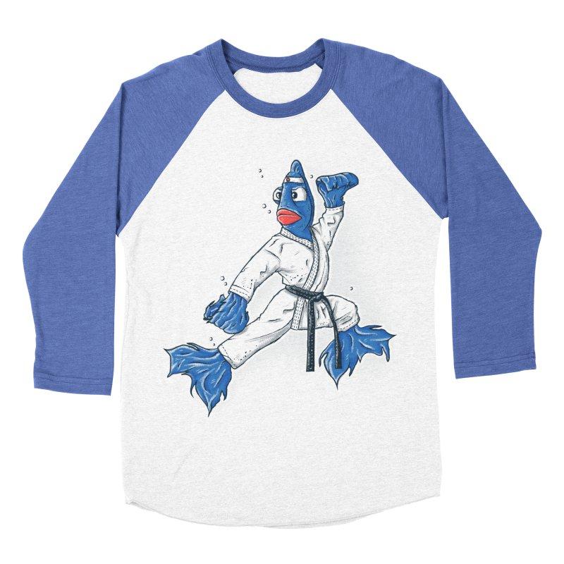 Fighting Fish Women's Baseball Triblend T-Shirt by Tomas Teslik's Artist Shop