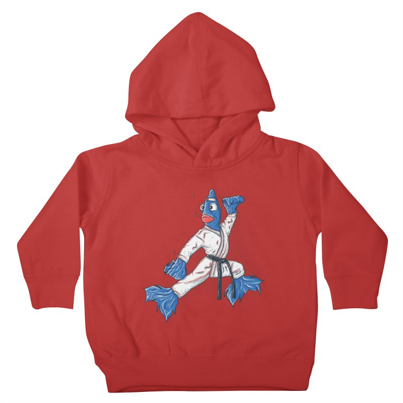 Fighting Fish Kids Toddler Pullover Hoody by Tomas Teslik's Artist Shop