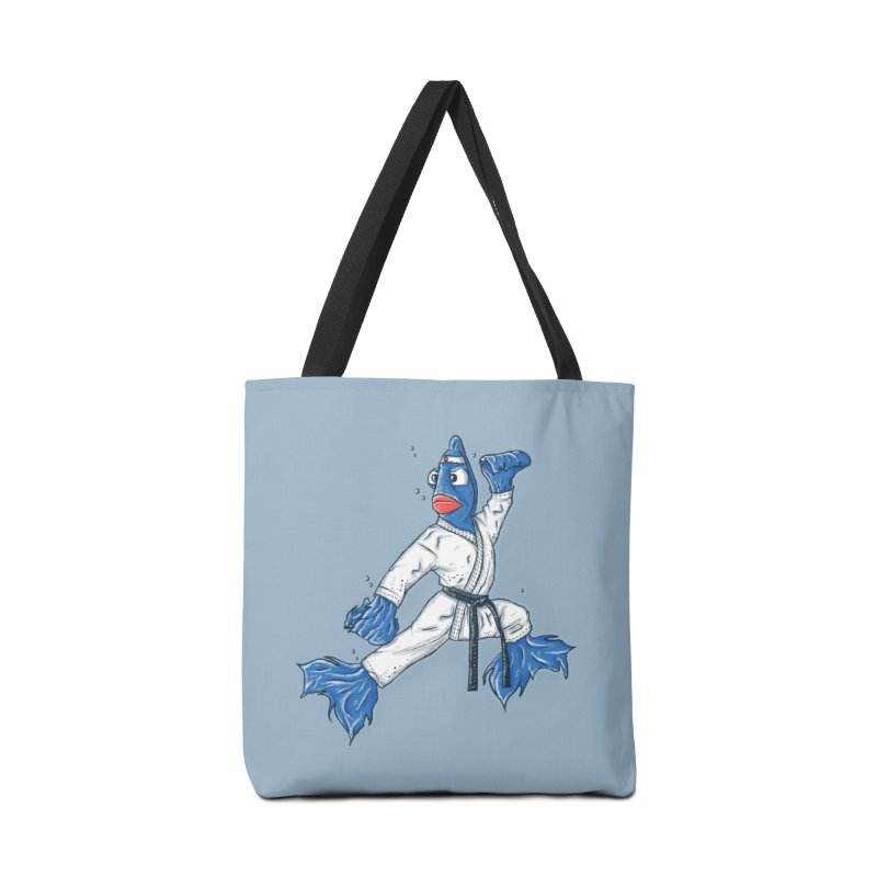 Fighting Fish Accessories Bag by Tomas Teslik's Artist Shop