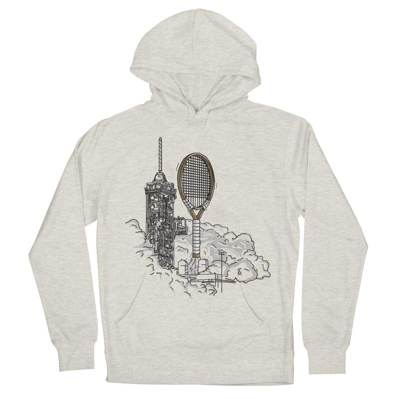 Space Rocket Men's Pullover Hoody by Tomas Teslik's Artist Shop