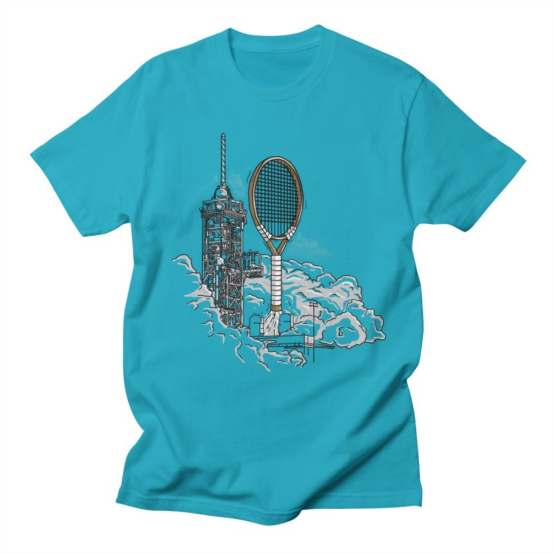 Space Rocket Women's Unisex T-Shirt by Tomas Teslik's Artist Shop