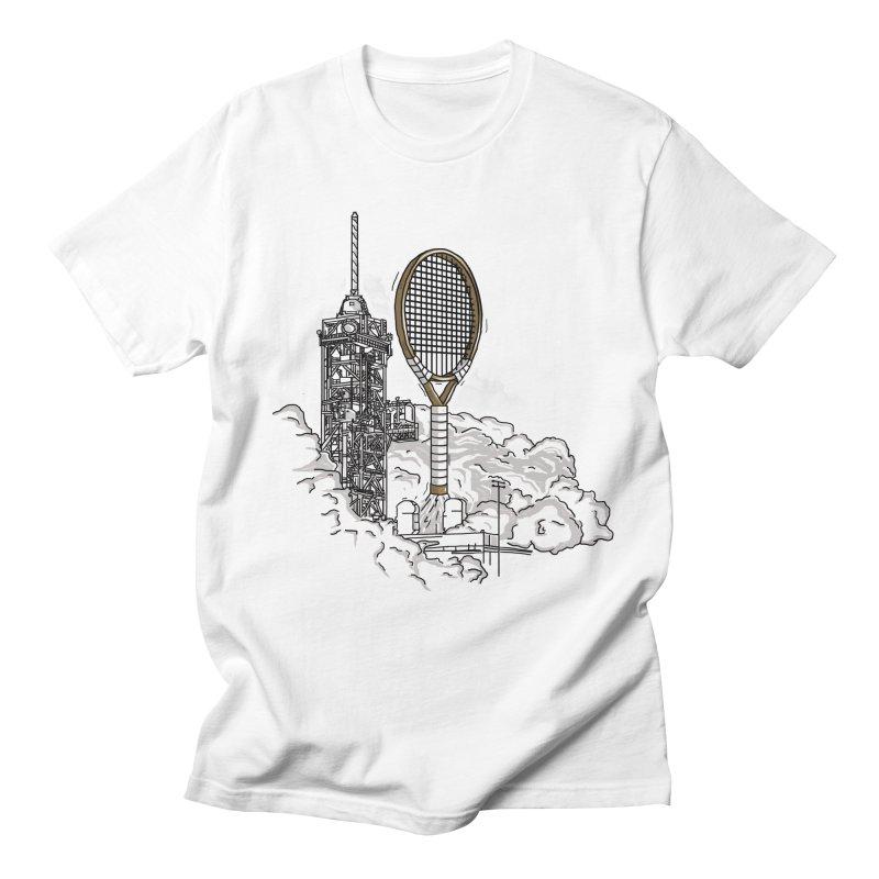 Space Rocket Women's Unisex T-Shirt by Tomas Teslik's Artist Shop