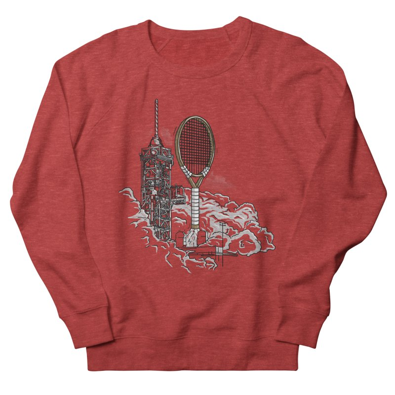 Space Rocket Women's Sweatshirt by Tomas Teslik's Artist Shop