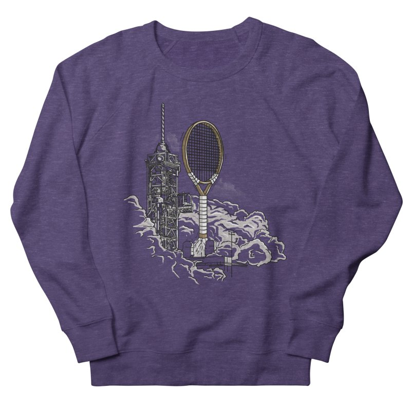 Space Rocket Men's Sweatshirt by Tomas Teslik's Artist Shop