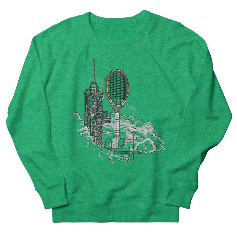 Space Rocket Men's Sweatshirt by Tomas Teslik's Artist Shop