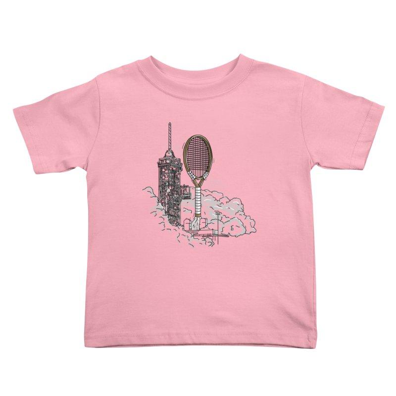 Space Rocket Kids Toddler T-Shirt by Tomas Teslik's Artist Shop