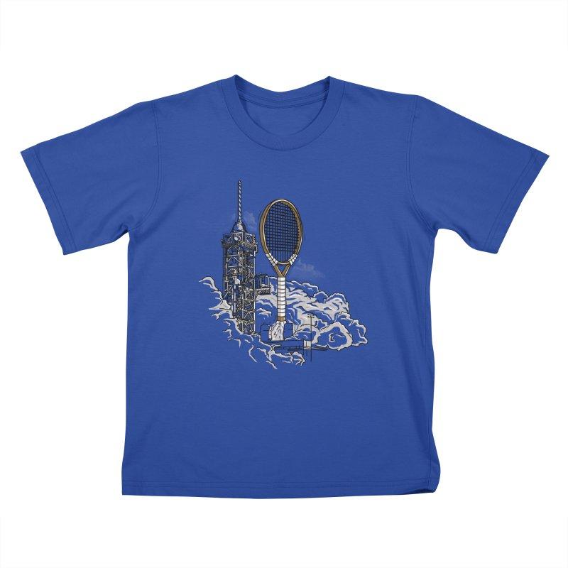 Space Rocket Kids T-shirt by Tomas Teslik's Artist Shop