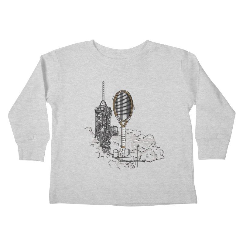 Space Rocket Kids Toddler Longsleeve T-Shirt by Tomas Teslik's Artist Shop