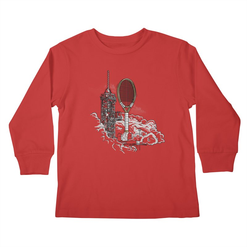 Space Rocket Kids Longsleeve T-Shirt by Tomas Teslik's Artist Shop