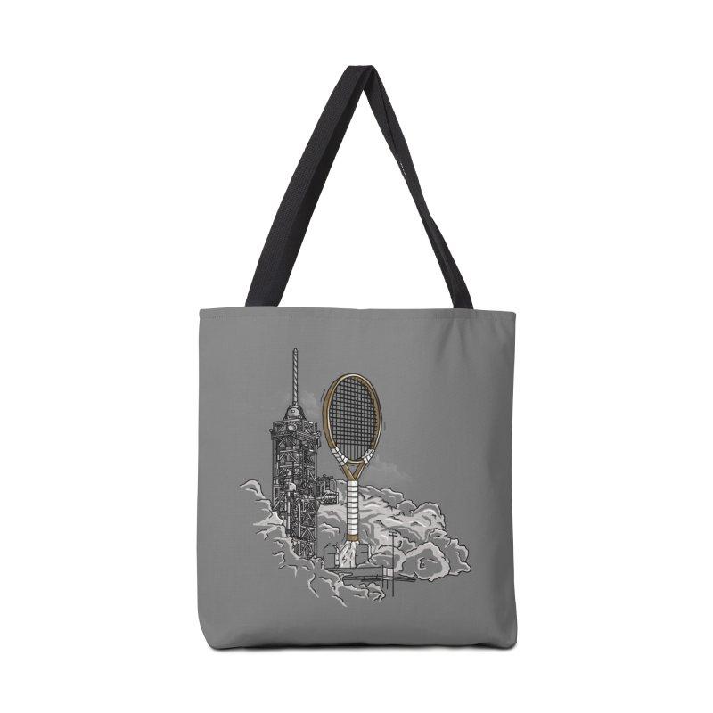 Space Rocket Accessories Bag by Tomas Teslik's Artist Shop
