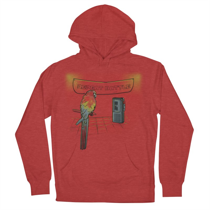 Repeat Battle Women's Pullover Hoody by Tomas Teslik's Artist Shop