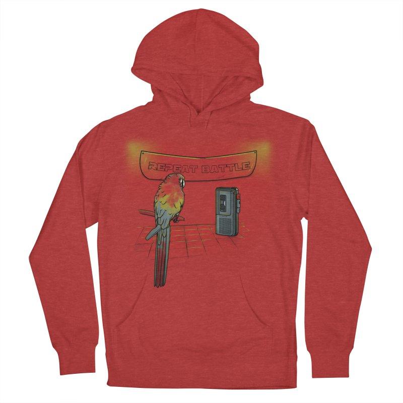 Repeat Battle Men's Pullover Hoody by Tomas Teslik's Artist Shop