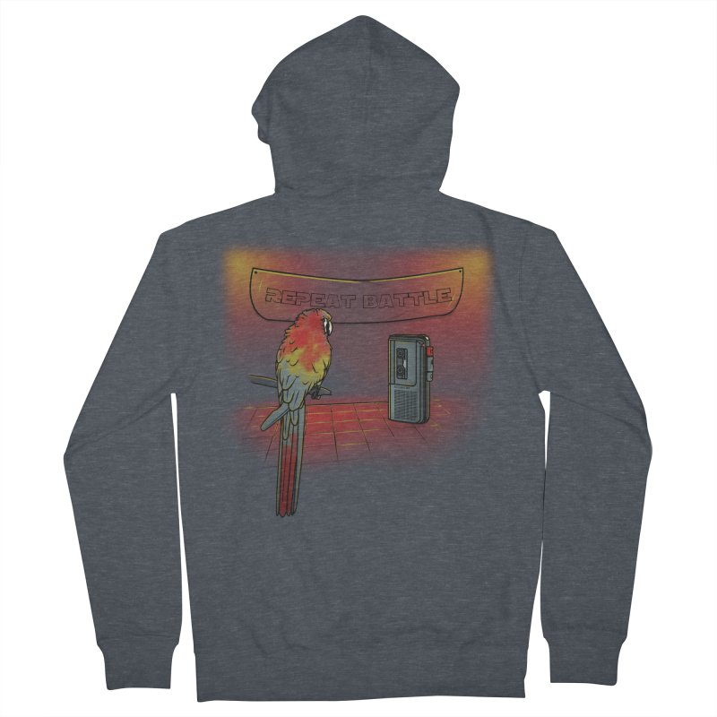 Repeat Battle Women's Zip-Up Hoody by Tomas Teslik's Artist Shop