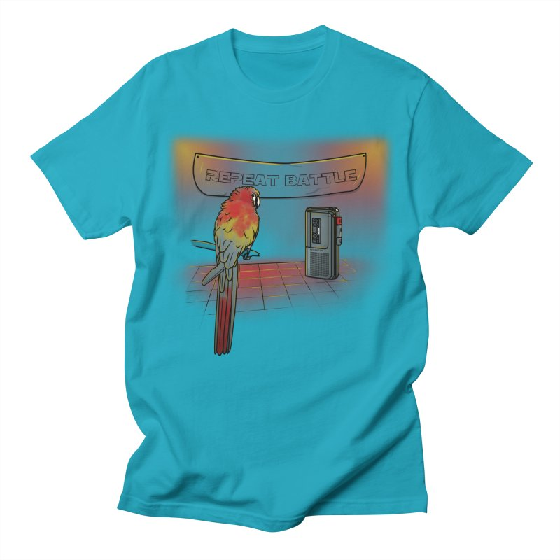 Repeat Battle Women's Unisex T-Shirt by Tomas Teslik's Artist Shop