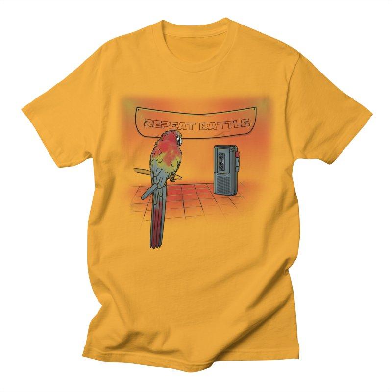 Repeat Battle Men's T-Shirt by Tomas Teslik's Artist Shop