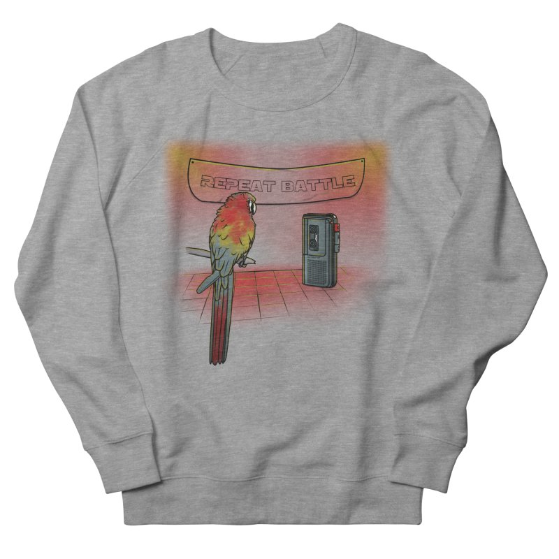 Repeat Battle Women's Sweatshirt by Tomas Teslik's Artist Shop