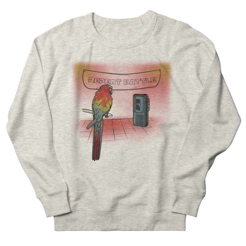 Repeat Battle Women's Sweatshirt by Tomas Teslik's Artist Shop