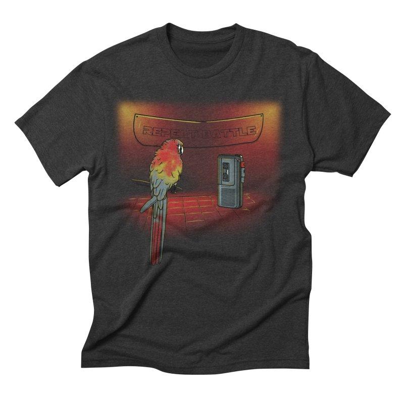 Repeat Battle Men's Triblend T-Shirt by Tomas Teslik's Artist Shop