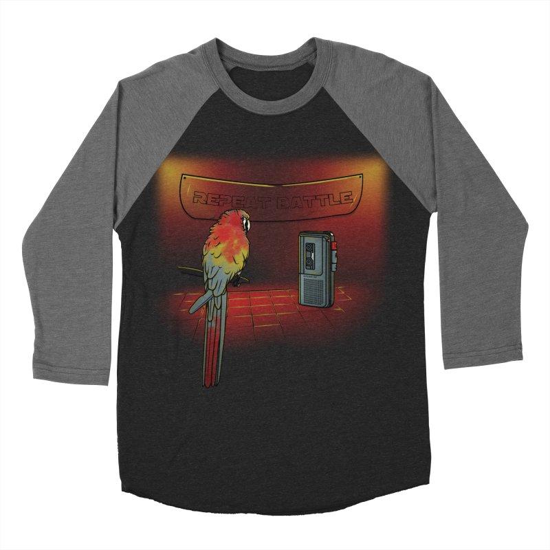 Repeat Battle Men's Baseball Triblend T-Shirt by Tomas Teslik's Artist Shop