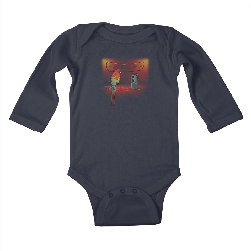 Repeat Battle Kids Baby Longsleeve Bodysuit by Tomas Teslik's Artist Shop