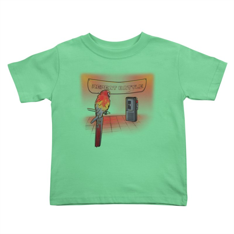 Repeat Battle Kids Toddler T-Shirt by Tomas Teslik's Artist Shop