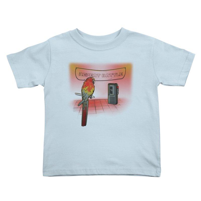 Repeat Battle Kids Toddler T-Shirt by Tomas Teslik's Artist Shop