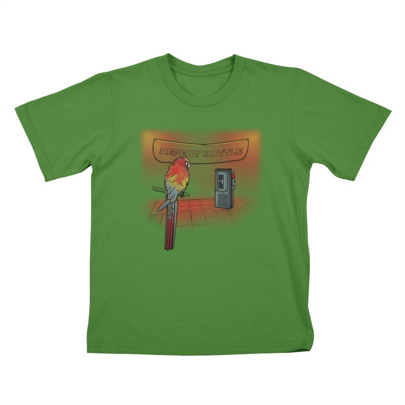 Repeat Battle Kids T-Shirt by Tomas Teslik's Artist Shop