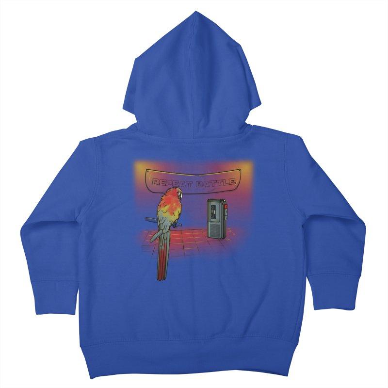 Repeat Battle Kids Toddler Zip-Up Hoody by Tomas Teslik's Artist Shop