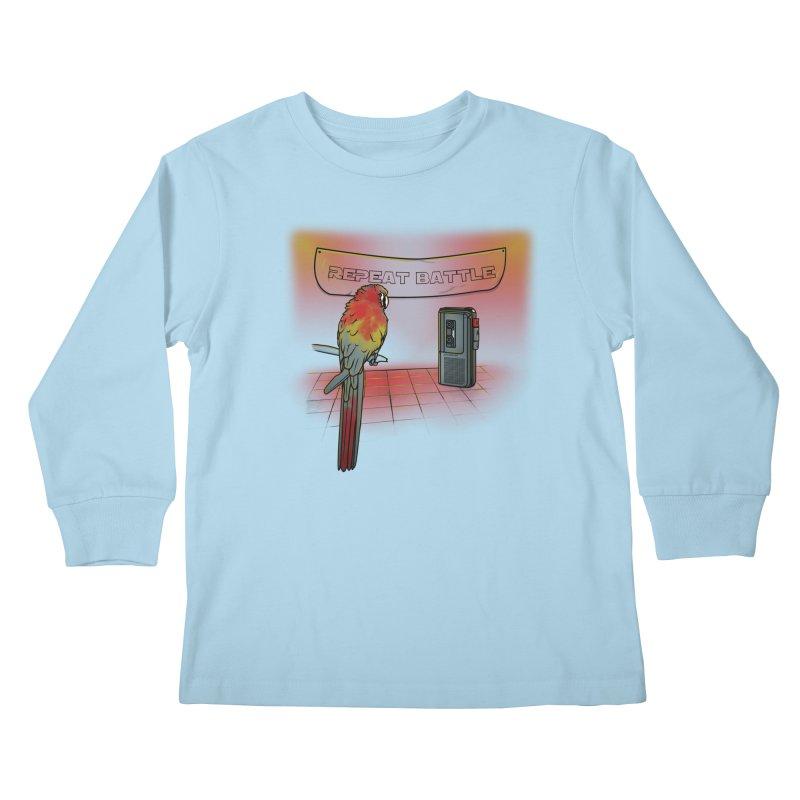Repeat Battle Kids Longsleeve T-Shirt by Tomas Teslik's Artist Shop