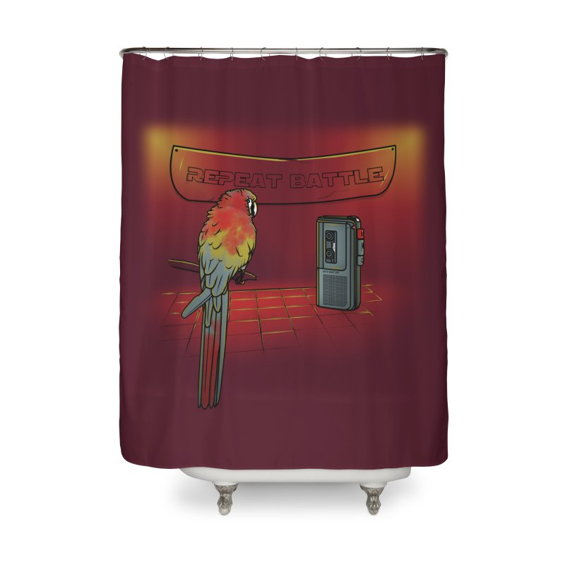 Repeat Battle Home Shower Curtain by Tomas Teslik's Artist Shop
