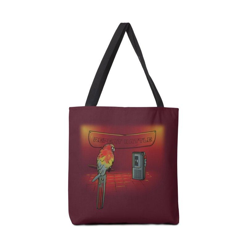 Repeat Battle Accessories Bag by Tomas Teslik's Artist Shop