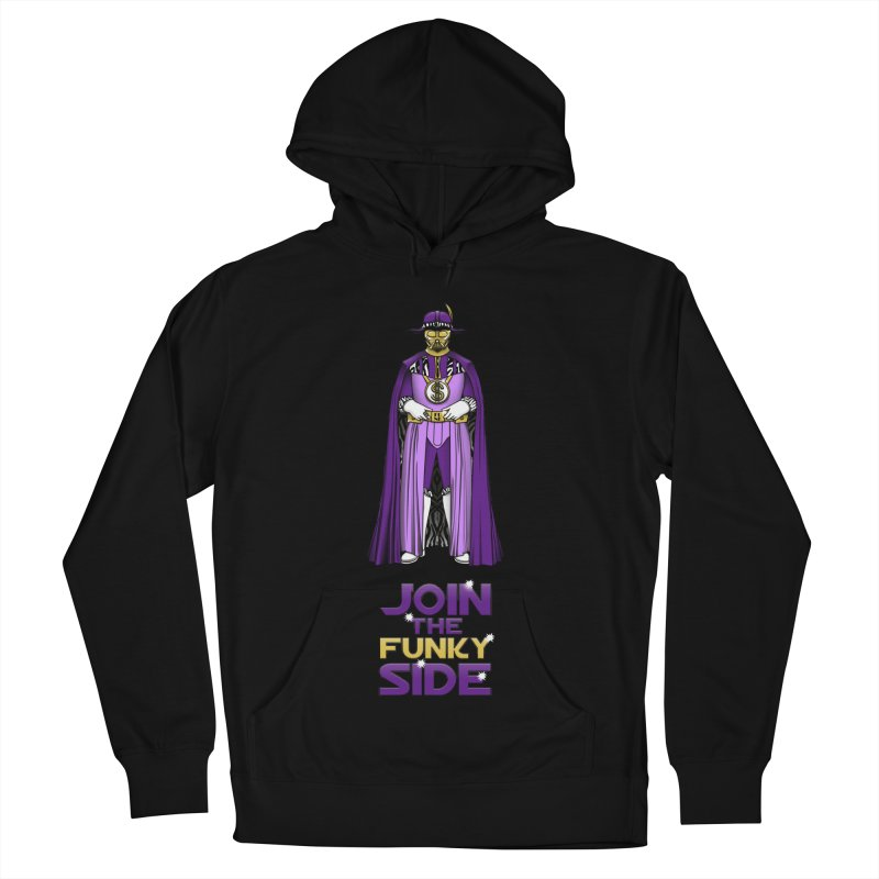 Join The Funky Side Men's Pullover Hoody by Tomas Teslik's Artist Shop