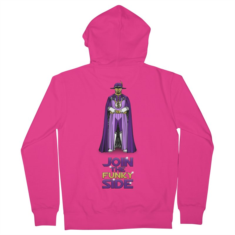 Join The Funky Side Men's Zip-Up Hoody by Tomas Teslik's Artist Shop