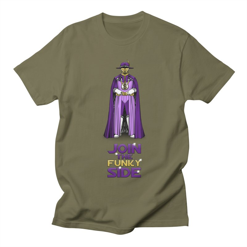 Join The Funky Side Men's T-Shirt by Tomas Teslik's Artist Shop