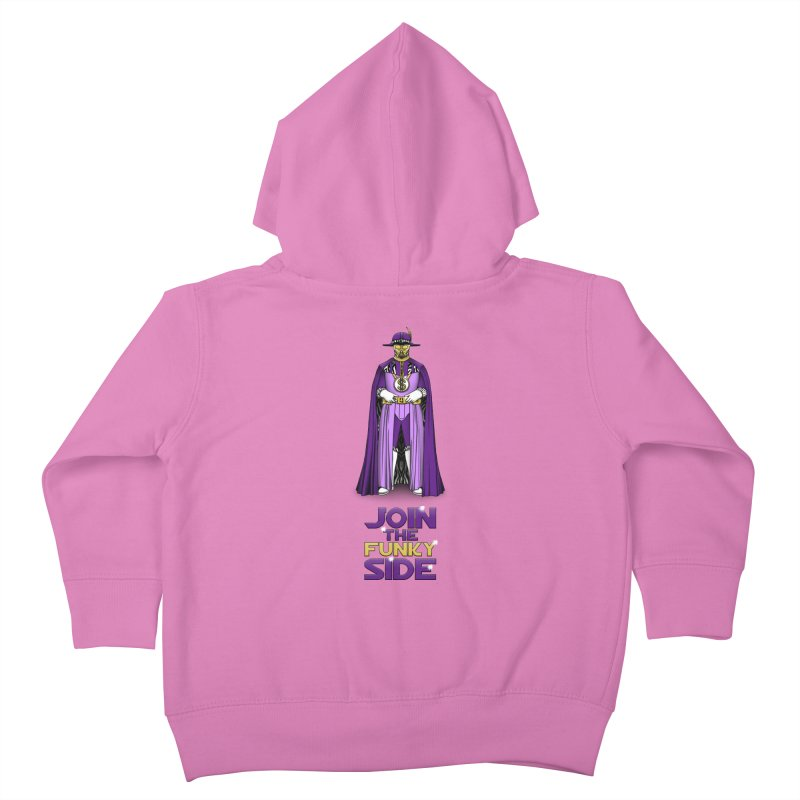 Join The Funky Side Kids Toddler Zip-Up Hoody by Tomas Teslik's Artist Shop