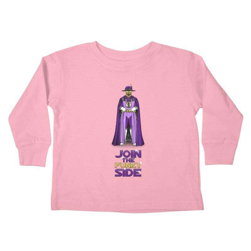 Join The Funky Side Kids Toddler Longsleeve T-Shirt by Tomas Teslik's Artist Shop